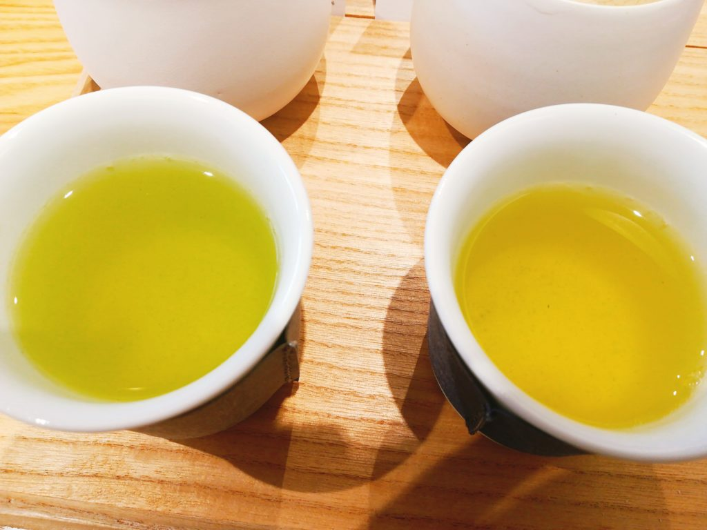 東京茶寮のお茶